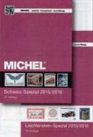Schweiz+Liechtenstein Spezial Briefmarken Katalog LBK/MICHEL 2015/2016 Neu 72€ Mit Genf UNO Ämter Catalogues Of Helvetia - Zubehör