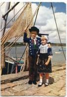 Enfants En Costume De Plougastel-Daoulas - écrite Et Timbrée - 2 Scans - Plougastel-Daoulas