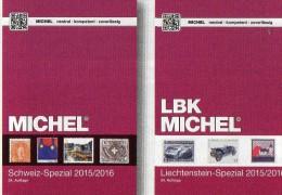 LBK/MICHEL Schweiz+Liechtenstein Spezial Briefmarken Katalog 2015/2016 Neu 72€ Mit Genf UNO Ämter Catalogues Of Helvetia - Literatur & Software