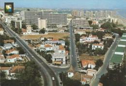 D1020 - POSTAL - TORREMOLINOS - VISTA PARCIAL AEREA - Málaga