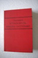 Dictionnaire étymologique Anglais - Dictionnaires