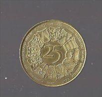 JETON 25 WESTVLAANDER 1980 - Belgique