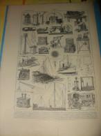 Planche  TELEGRAPHE   1920/24 - Téléphonie