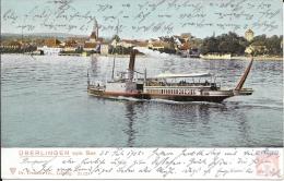 Allemagne - Carte Postale Bateau - Lac De Constance - Oblitération Lacustre 1905 - K.K. OESTERREICHISCHE SCHIFFSPOST - Germania