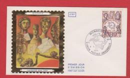 Enveloppe  //  Premier Jour  //  Monaco //  8 Mai  1974 - FDC