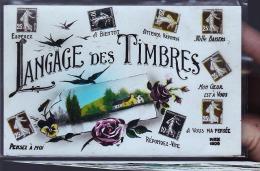 LANGAGE DES TIMBRES CARTE PHOTO - Timbres (représentations)
