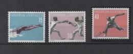 LIECHTENSTEIN  Timbre Neuf ** De 1958 (  Ref154 A )  Sport- Tennis - Liechtenstein