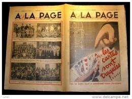 A LA PAGE : 1931. 084. LES CARTES SONT TRUQUEES. D' A. MARSDEN - Livres, BD, Revues
