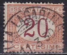 Regno D'Italia, 1890/94 - 20c Segnatasse - Nr.22 Usato° - 1878-00 Humbert I.