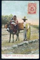 Cpa Du Mexique - Estado De Oaxaca - Tipos De Indios     BB17 - Mexique