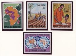 Burundi, 1969, Economic Cooperation, MNH Imperforated Set, Michel 480-483B - Non Classés