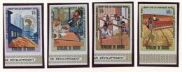Burundi, 1969, African Development Bank, MNH Imperforated Set, Michel 502-505B - Non Classés