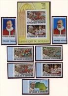 Burundi, 1969, Pope, MNH Imperforated Set And Sheet, Michel 506-512B, Block 35B - Non Classés