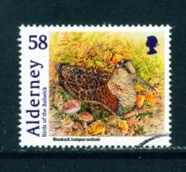 ALDERNEY  -  2011  Birds  58p  Used As Scan - Alderney