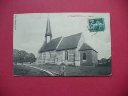 Cpa.r - Gaillardbois (27) - L'église - éditions Lavergne - Autres Communes