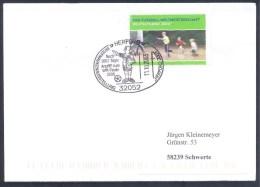 Germany Deutschland 2006 Cover: Football Fussball Calcio Soccer Fifa World Cup Referee Arbitre Schiedsrichter Arbitro - Copa Mundial