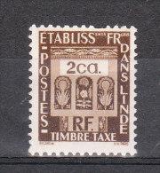 INDES YT TAXE 20 Neuf - India (1892-1954)