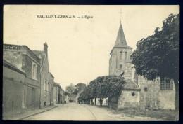 Cpa  Du 91  Val Saint Germain -- L' église     BB17 - France
