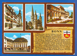 Deutschland; Bonn; Multibildkarte - Bonn