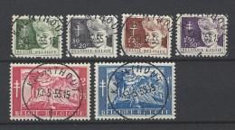 Nr 955-60 Centraal Afgestempeld Kalmthout - België