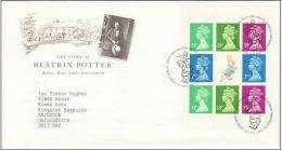 GB 1993 FROM BEATRIX POTTER PRESTIGE BOOKLET FDC - 1952-.... (Elizabeth II)