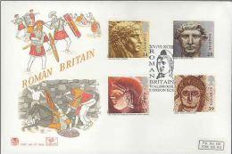 GB 1993 ROMAN BRITAIN FDC SG 1771-74 MI 1455-58 SC 1502-05 IV 1679-1682 - 1952-.... (Elizabeth II)