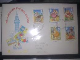 GB 1994 POSTCARDS FDC SG 1815-19 MI 1508-12 SC 1553-57 IV 1753-1757 - 1952-.... (Elizabeth II)