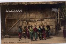 MORO WOMEN.- ZAMBOANGA MIND - Filipinas