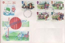 GB 1994 SUMERTIME FDC SG 1834-38 MI 1529-33 SC 1575-76 IV 1774-1778 - 1952-.... (Elizabeth II)
