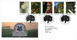 GB 1995 NATIONAL TRUST FDC SG 1868-72 MI 1564-68 SC 1606-10 IV 1809-1813 - 1952-.... (Elizabeth II)