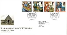GB 1997 MISSIONS OF FAITH FDC SG 1972-75 MI 1684-87 SC 1730-33 IV 1942-1945 - 1952-.... (Elizabeth II)