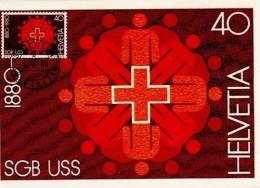 SWITZERLAND 1980 MICHEL NO: 1185  MAXIMUMCARD - Maximumkarten (MC)