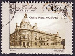 POLOGNE  2005  -    YT   3960 -  L'ancienne Poste De Cracovie  -   Oblitéré - 1944-.... Republic