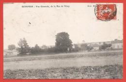 CPA Sompuis - Vue Générale De La Rue De Vitry - Frankreich