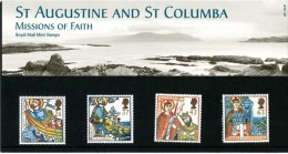 GB 1997 MISSIONS OF FAITH PRESENTATION PACK SG 1972-75 MI 1684-87 SC 1730-33 IV 1942-1945 - Presentation Packs