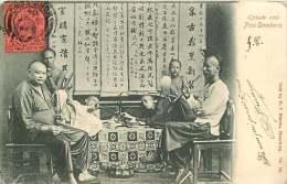 ASIE 021115 - CHINE HONG KONG Opium And Pipe Smokers - Pipe Fumeur - Chine (Hong Kong)