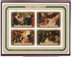 Burundi, 1977, Rubens Paintings, MNH Imperforated Souvenir Sheet, Michel Block 99B - Non Classés
