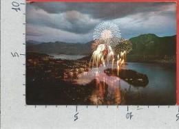 CARTOLINA VG ITALIA - Lago Di COMO - Isola COMACINA - Festa Di S. GIOVANNI - 10 X 15 - ANNULLO 1970 - Como