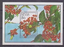 Nevis 1992 Lantana Camara M/s ** Mnh (25847) - St.Kitts En Nevis ( 1983-...)