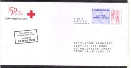 PAP  POSTREPONSE Ciappa-Kavena CROIX-ROUGE  14P247 - Entiers Postaux