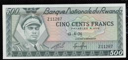 RWANDA  : 500 Francs  - P11 - UNC - Rwanda