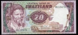 SWAZILAND :  20 Emalangeli - P11b - Swaziland