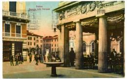 CARTOLINA VIAGGIATA PADOVA 1926 (PIAZZETTA CAFFE' PEDROCCHI) - Padova (Padua)