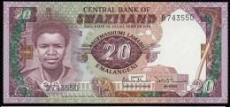 SWAZILAND :  20 Emalangeli - P12a - Swaziland