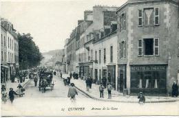 29 QUIMPER ++ Avenue De La Gare ++ - Quimper