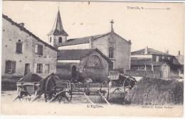 Thierville,l église - France