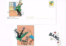 Tintin Prêt à Poster 1999  - Hergé Kuifje Kuifie Tantan Tin-Tin Tintti Túfke Tim Ten-Ten Tainetaine Tinni Tintim - Ganzsachen