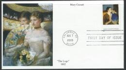US 2003  Sc#3804  37c Mary Cassatt On FDC - 2001-2010