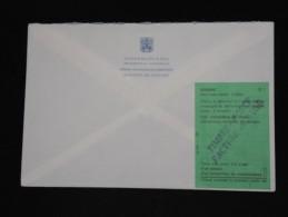 VATICAN - Lot De 5 Enveloppes En Reco. Avec étiquettes De Douanes Au Dos En 1998 Pour La France - A Voir - Lot P12114 - Vatican