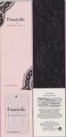 Marque-page °° Parfum Danielle De Danielle Steel Avec échantillon Collé Sur Le Marque Page °-°  5 X 21 - Marque-Pages